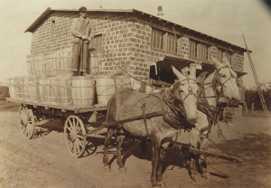 Simpson Orchard Apple Packing House circa 1905